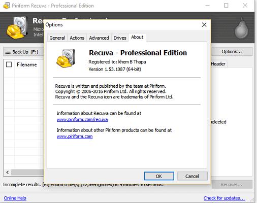 Recuva Pro Crack Full Version Torrent