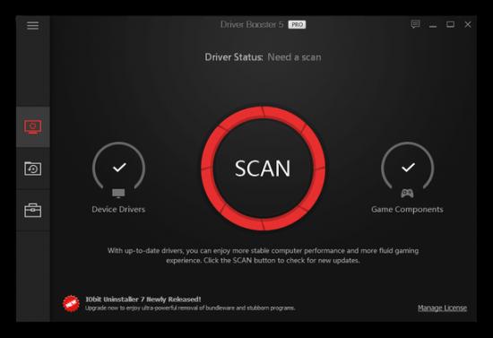 iobit driver booster registration key