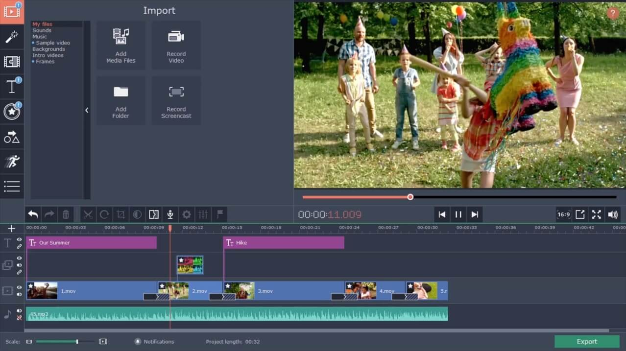 movavi video editor latest version free download