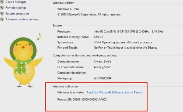 activate windows 8.1 without product key