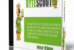 ByteScout PDF Multitool 2020