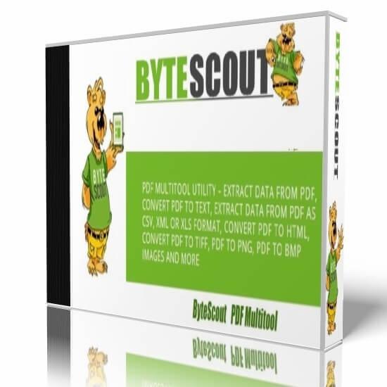 ByteScout PDF Multitool 2020