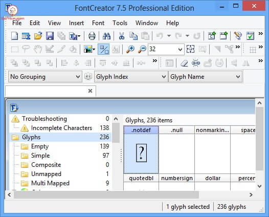 High-Logic FontCreator 2020 crack