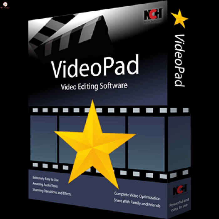 NCH VideoPad Video Editor Pro crack
